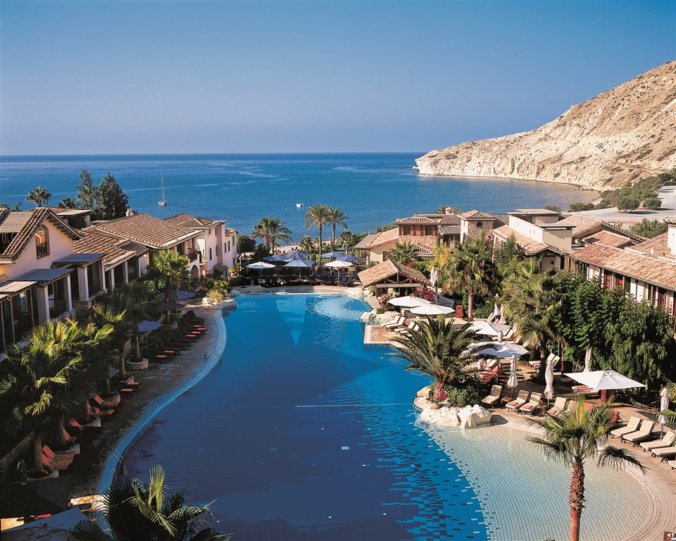 Kypr, Pissouri, Columbia Beach Resort