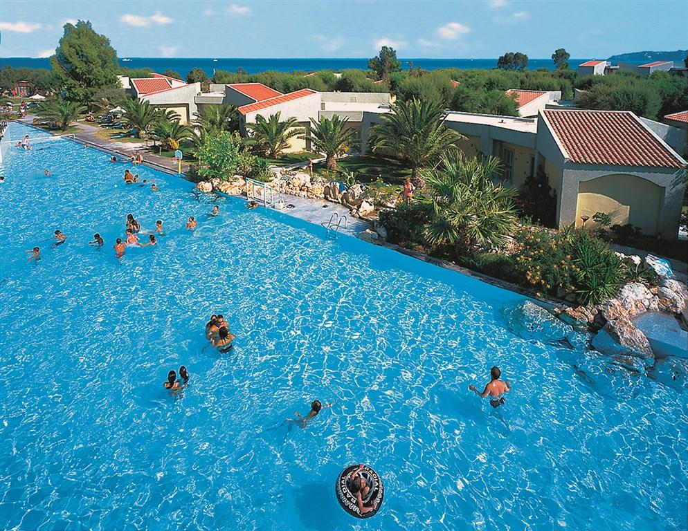 Řecko, Rhodos, Faliraki, Hotel Grecotel Rhodos Royal, bazén