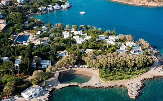 Minos beach art - řecko, kréta, agios nikolaos, hotel minos beach