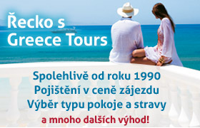 Řecko s Greece Tours