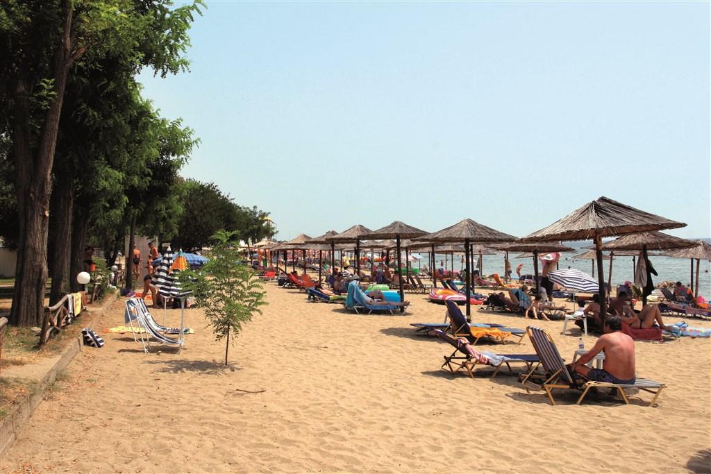 Řecko, Chalkidiki, Gerakini, Hotel Gerakina Beach, pláž