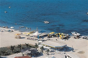 Řecko, Chalkidiki, Kallithea, Hotel Athos Palace, pláž
