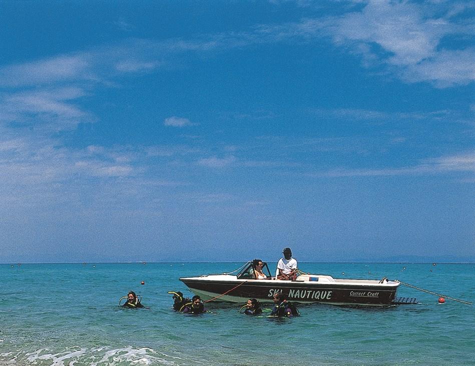 Řecko, Chalkidiki, Hanioti, Hotel Grecotel Pella Beach, moře