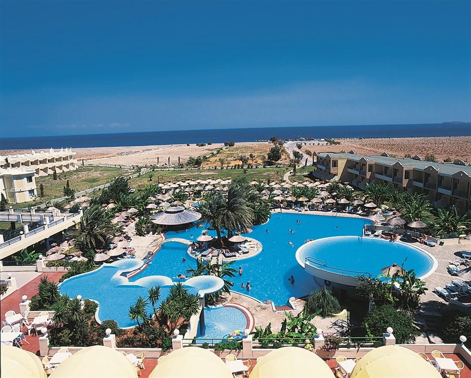 Řecko, Rhodos, Kalathos, Hotel Atrium Palace Resort, bezény