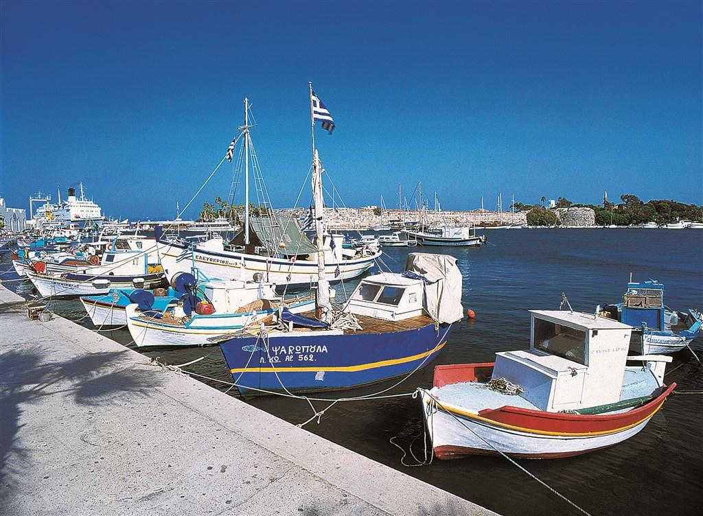 Ostrov Kos - Přístav v hlavním městě